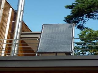 Latvenergo Energy Efficiency Center TS400 solar vacuum collector DEMO