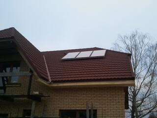 Солнечные коллекторы в Мурмастене