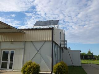 Solar energy for a fish processing plant in Smarde