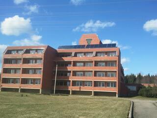 """Solar collector systems in the Social Care Center """"Tervete"""""""