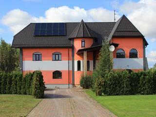 Solar heat pump system DUO in Krustpils region