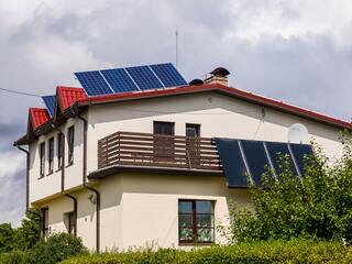 Solar panels and solar collectors for pool heating in Dundaga