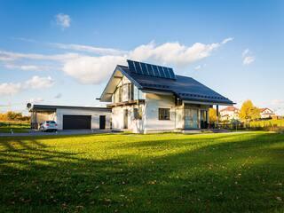 Solar pump heating system in Salaspils
