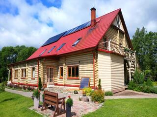 """Солнечная электроэнергия для собственного потребления в гостевом доме """"Zala sala"""""""