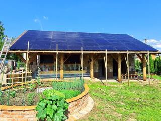 Solar panels for motel in Valmiera